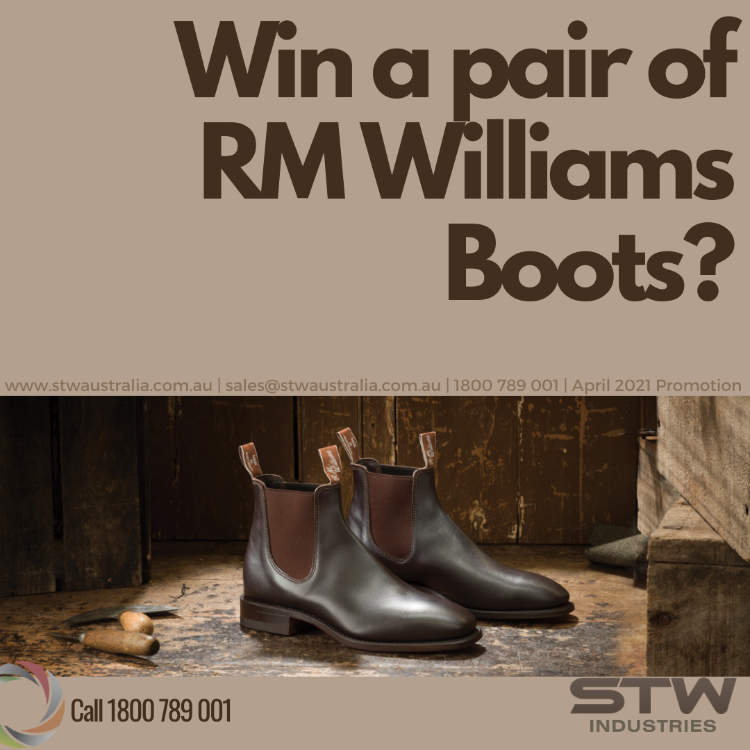 Win a pair of RM Williams boots !