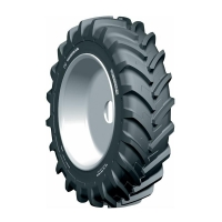 320/90R54(12.4R54) MICHELIN AGRIBIB RADIAL R-1W 151A8/B TL