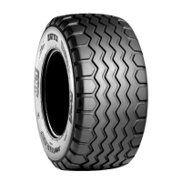340/60R16.5(12-16.5) BKT AW711 IMPLEMENT RADIAL 145A8/B TL